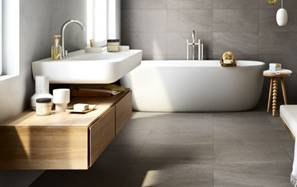 material for surfacing in bathrooms and fireplaces