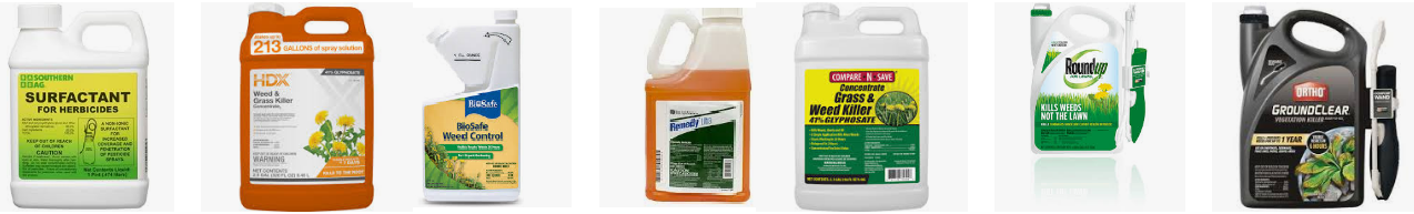 Contact Poison Type of Herbicide