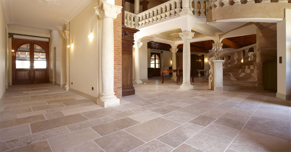 Natural Stone Internal Paving