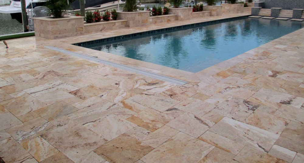 Natural Stones in Swimming Pools