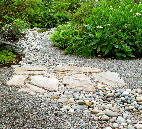 Landscaping Using Natural Stones