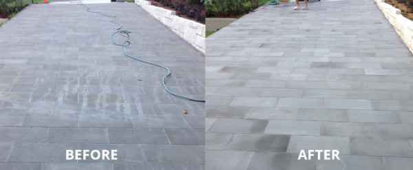 Bluestone Pavers Are Easy to Maintain in the Exterior Applications