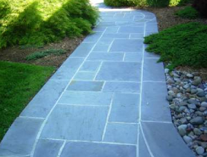 Bluestone Pavers Exterior Applications