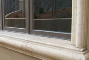 Exterior of Window sills