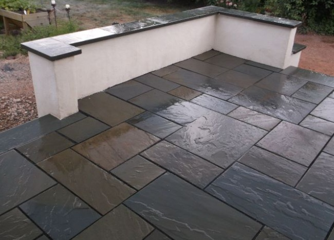 Flagstone in Your Patio for Shining Gleam
