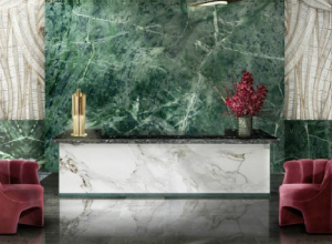 Green Marble in Wall Cladding Applications