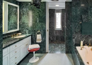 Green Marble in Wet Places Applications