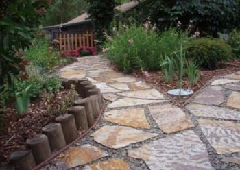 Flagstone in Your Driveway