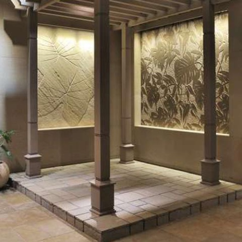 Natural Stone Crafts on Structural Elements in Your Backyard & Exteriors