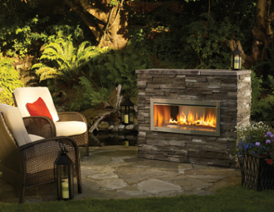Natural Stone Fire Feature