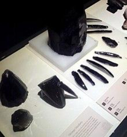 Obsidians as Weapons & Tools