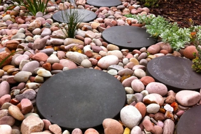 Round Stepping Stones Material