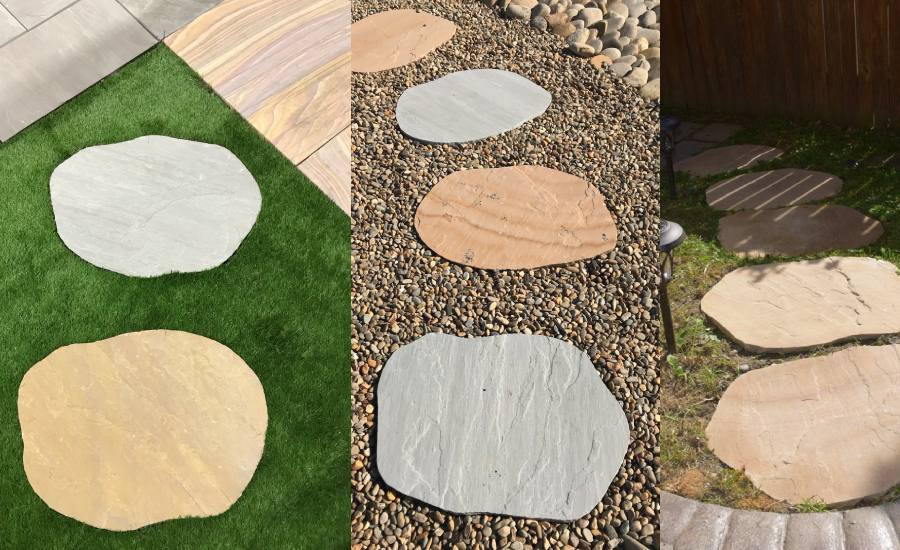 Round Stepping Stones