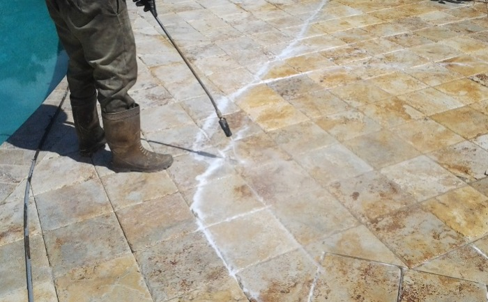 Travertine Demand Regular Maintenance