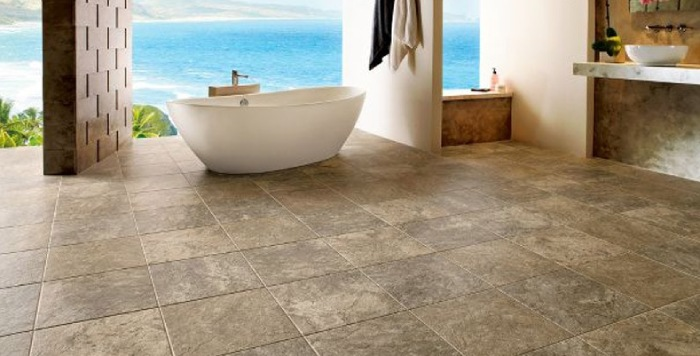 Travertine Stone Tiles or Slabs Allow Creation of Non-Slip Surfaces