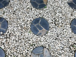 stepping stone material in betweeen
