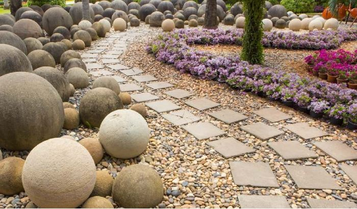 Stepping Stone Path Creatively