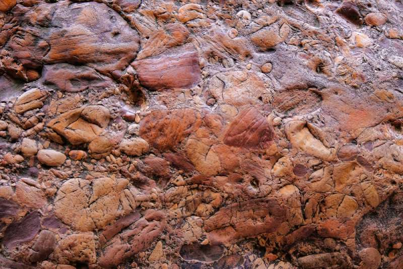 conglomerate rocks