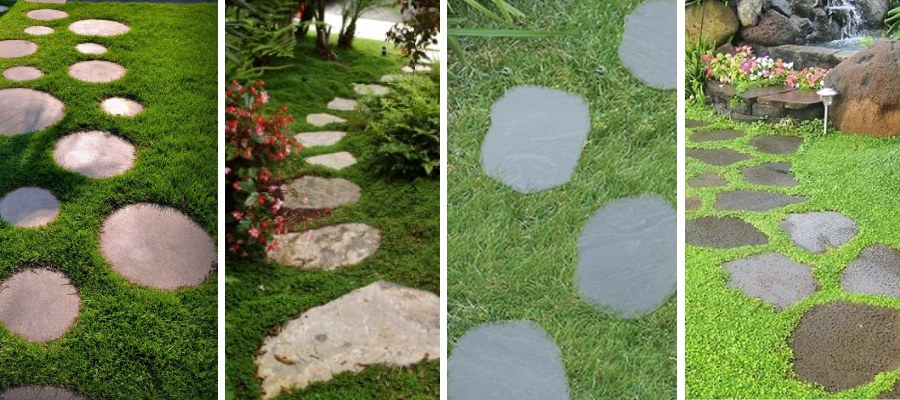 10 Benefits Of Natural Stepping Stones In Garden