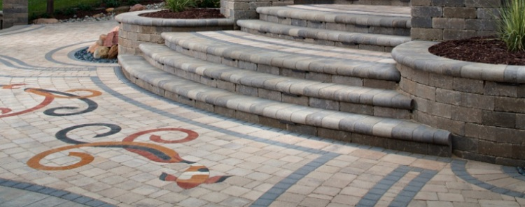 Driveway Paving with Stones Give Freedom to be Creative in Designing