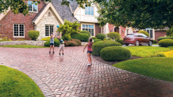 Driveway Paving with Stones
