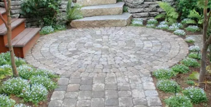 22 Best Natural Paving Stones Ideas For Patio Designs In 2019