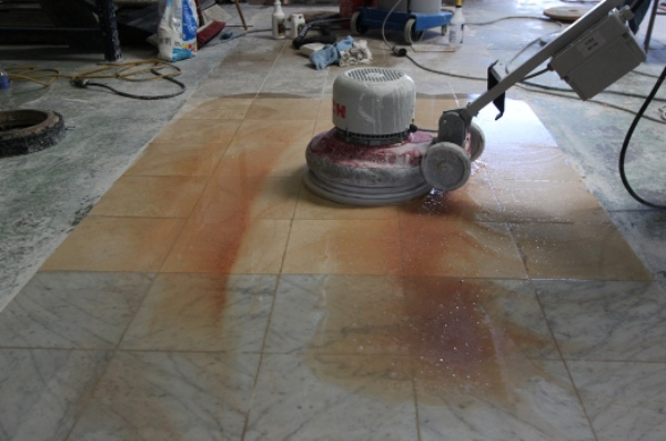 Natural Stone Honing in Restoration Process