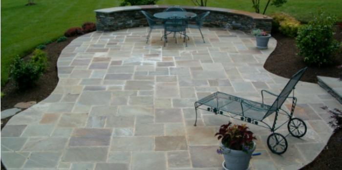 22 Best Natural Paving Stones Ideas for Patio Designs in 2019 on Patio Shape Designs id=59549
