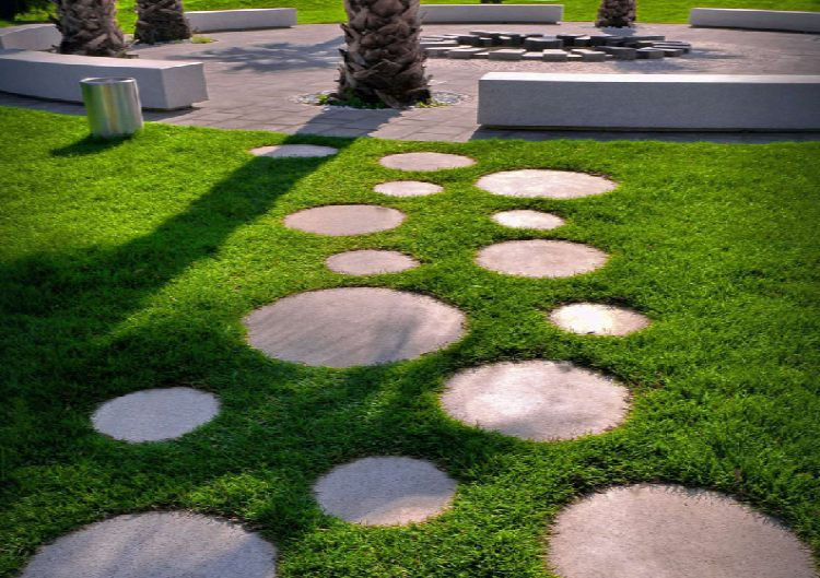 Circular Stepping Stones featured