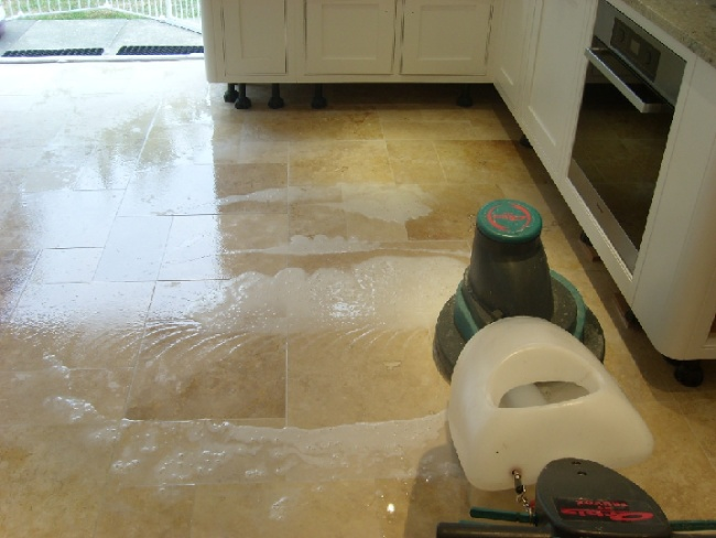 Cleaning of Travertine