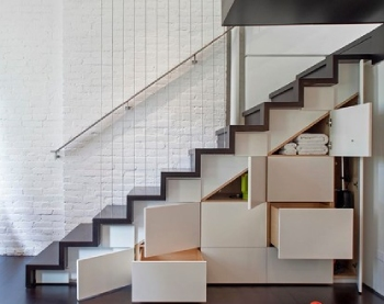 Storage Natural Stone Staircase