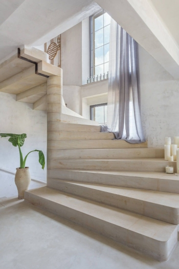 Winder Natural Stone Stairs