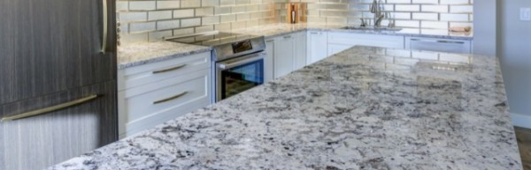 Natural Stone Texture on Countertops