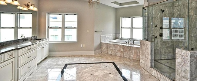 Natural Stone Texture on Interior & Exterior Floors