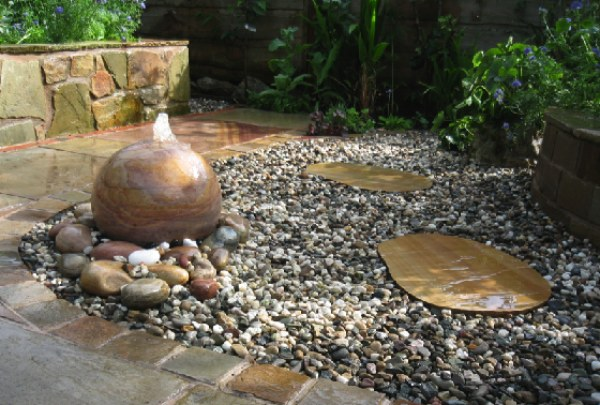 creation of Water Feature in your landscape