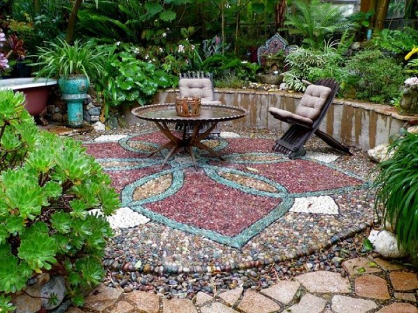 natural pebble stones in your landscape (1)