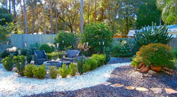 natural pebble stones in your landscape