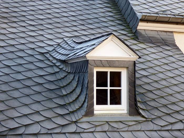sturdy material as roofing tiles