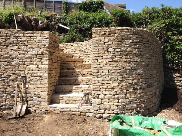 Dry-stone Wall with Curvature