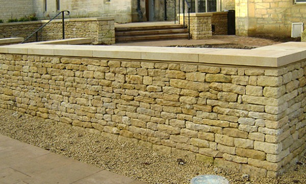 old dry stone walling