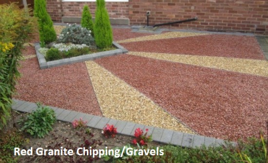 Red Granite Chipping