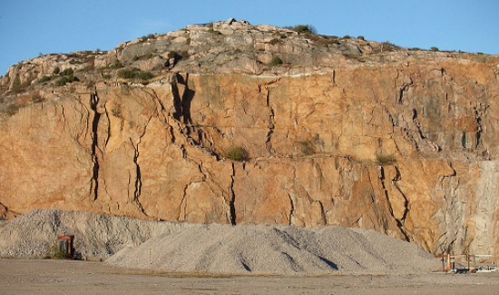 Sources of Red Granite