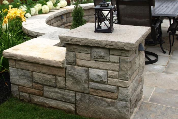 retaining walls in our landscapes
