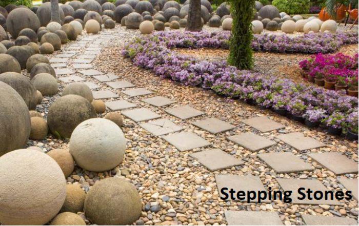 Big Stone Slabs in Stepping Stone