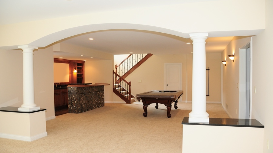 Basement & Game Room Flooring with Natural Stones