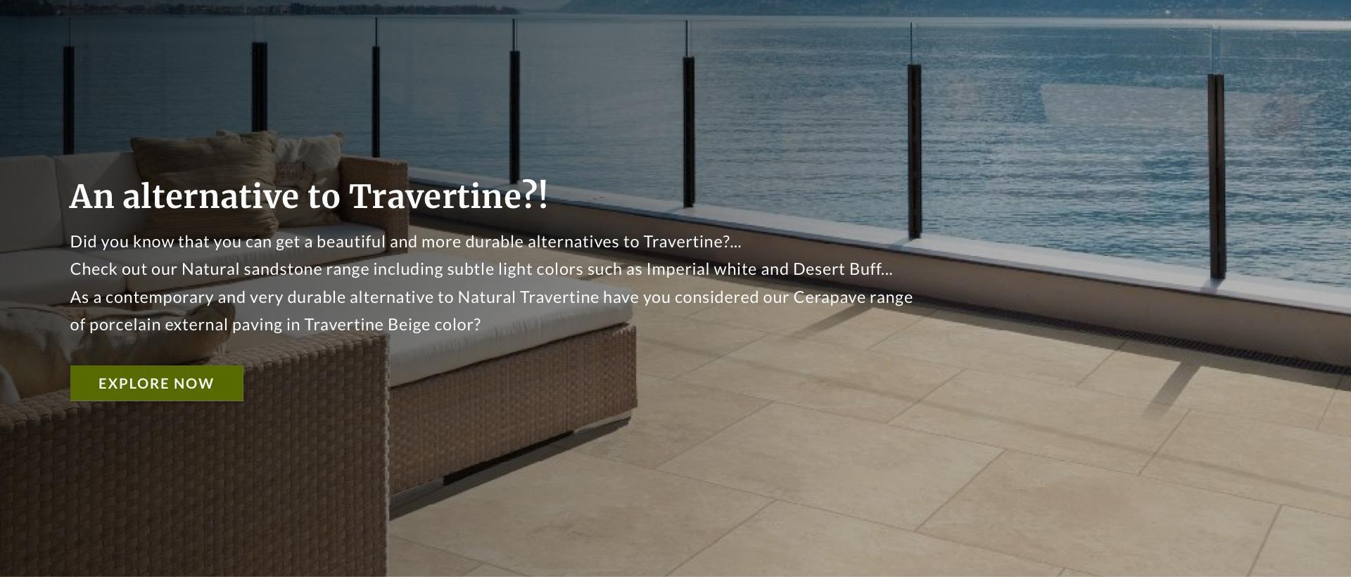 An alternative to Travertine