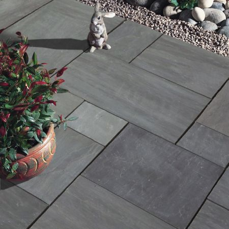 Natural Stone Pavers - Premia Collection - Sierra Blue