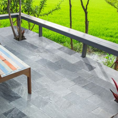 Natural Stone Pavers - Castle Grey