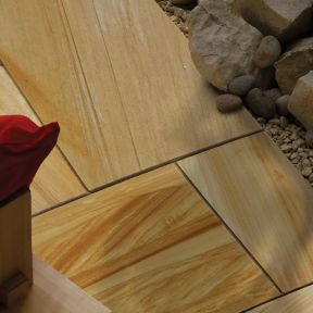 Natural Stone Pavers - Exotic Collection - Teak