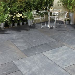 Natural Stone Pavers - Premia Collection - Cloudy Black